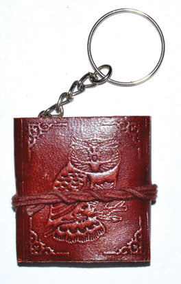 Owl journal key chain - Tree Of Life Shoppe
