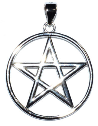 Pentagram Sterling Pendant (925) - Tree Of Life Shoppe