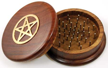 Pentagram Herb Grinder - Tree Of Life Shoppe