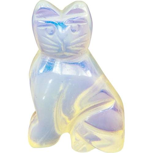 Spirit Animal - Opalite Cat - Tree Of Life Shoppe