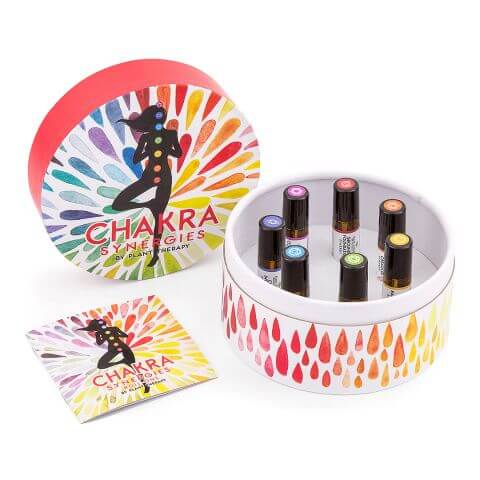 Chakra Synergies Essential Oil Set - Rollons
