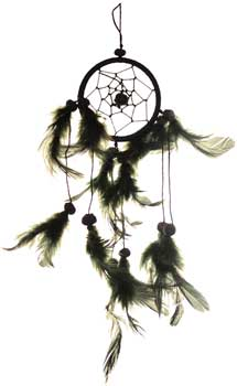 "2 1/2"" Black Dream catcher - Tree Of Life Shoppe"