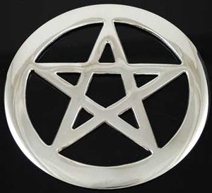 "Pentagram altar tile 4"" - Tree Of Life Shoppe"