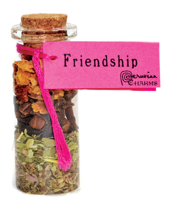 Friendship Pocket Spell Bottle - Tree Of Life Shoppe