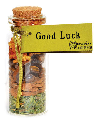 Good Luck Pocket Spell Bottle - Tree Of Life Shoppe