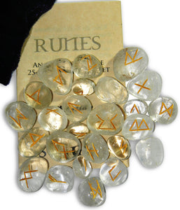 Gemstone Rune Sets - Various - Tree Of Life Shoppe