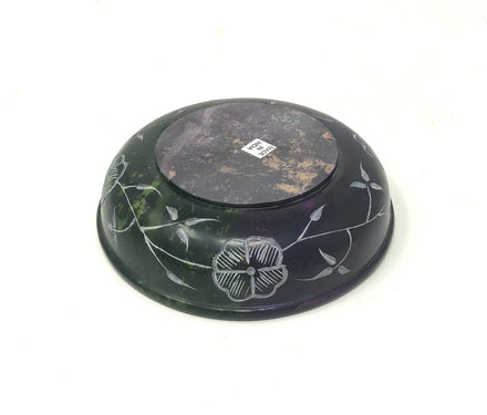 Soapstone Tree of Life Scrying Bowl / Offering Bowl