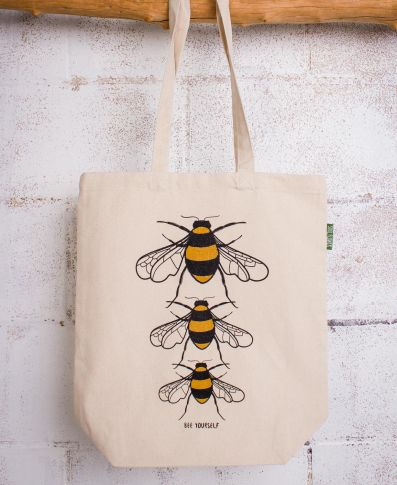 BEE YOURSELF ECO TOTE BAG - Tree Of Life Shoppe
