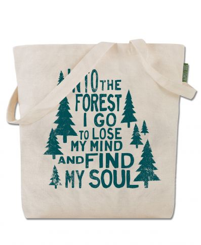 INTO THE FOREST ECO TOTE BAG - Tree Of Life Shoppe