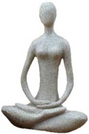 Yoga Goddess Sandstone - Tree Of Life Shoppe