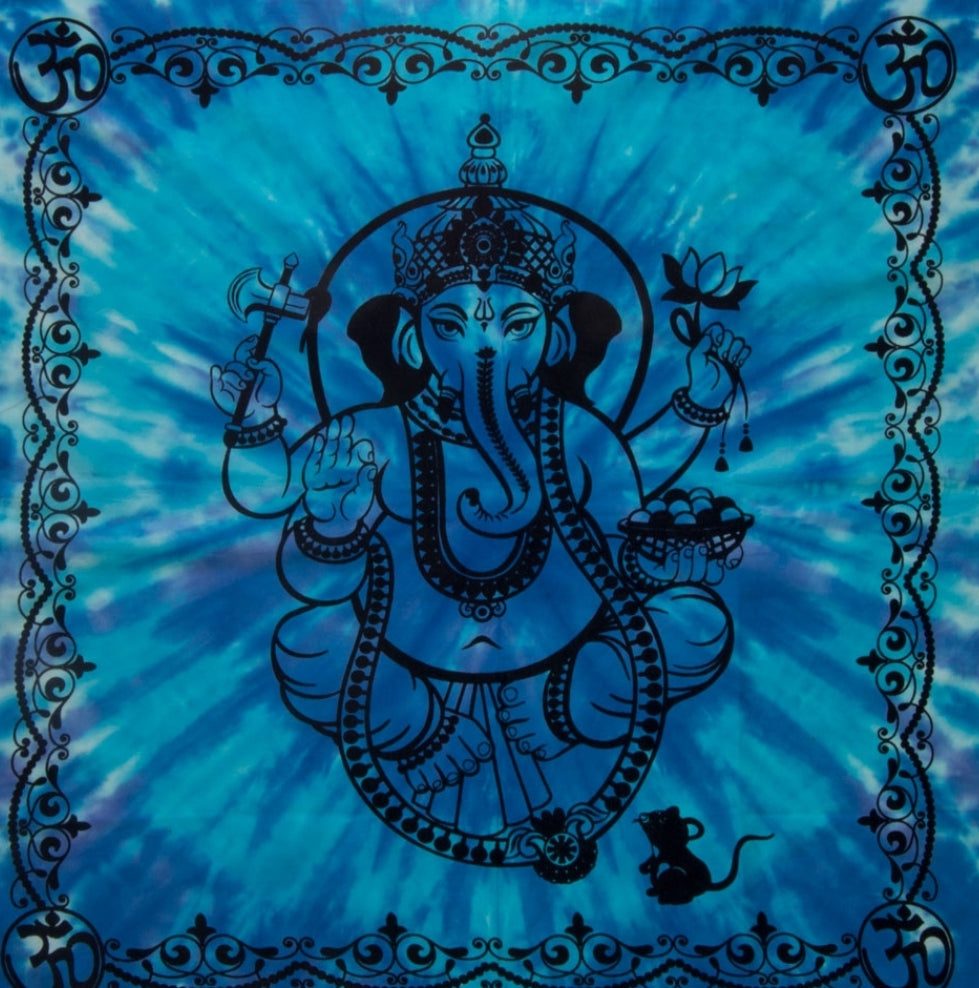 Altar Cloth 36 x 36, Ganesha - Tree Of Life Shoppe