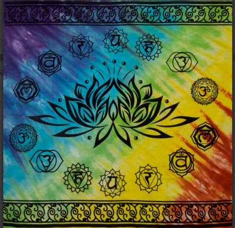 Altar Cloth 36 x 36, Lotus - Tree Of Life Shoppe