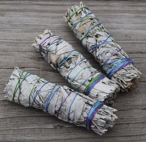 California White Sage Stick 3 inches - Tree Of Life Shoppe