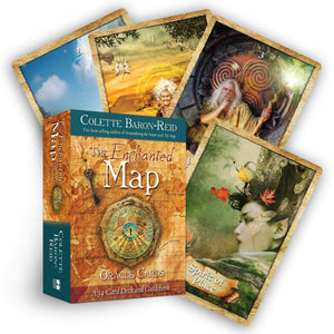 The Enchanted Map Oracle Cards - Tree Of Life Shoppe