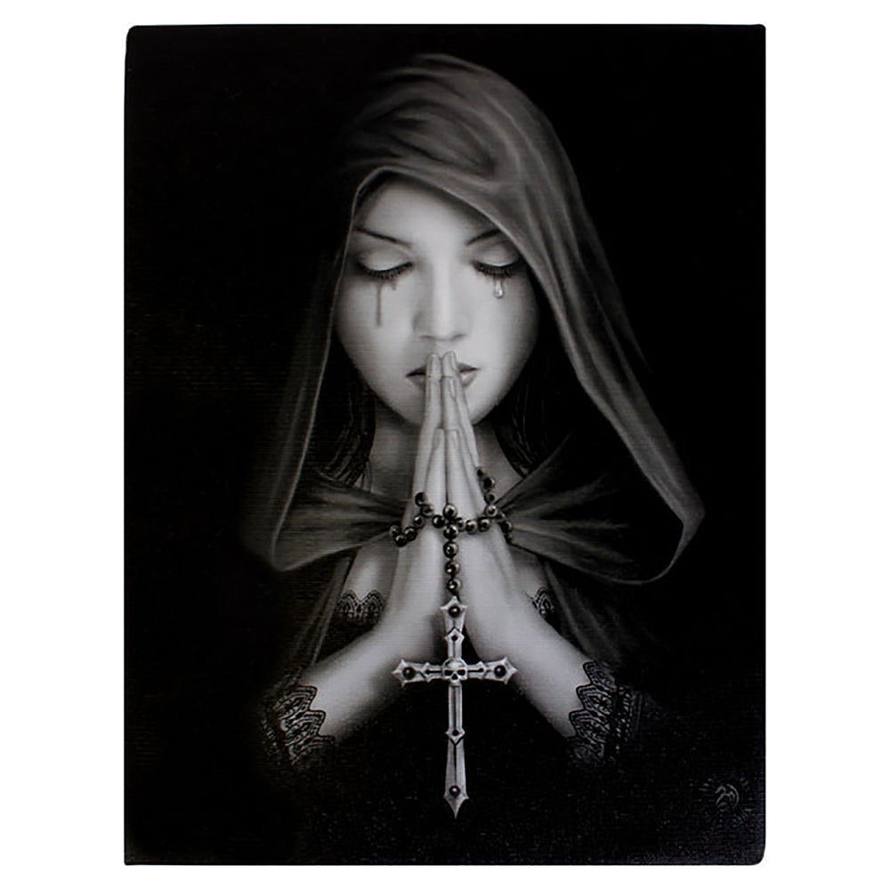 GOTHIC PRAYER CANVAS PRINT BY ANNE STOKES - Tree Of Life Shoppe