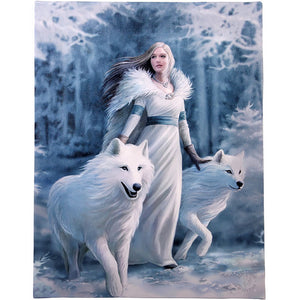 WINTER GUARDIAN CANVAS PRINT BY ANNE STOKES - Tree Of Life Shoppe
