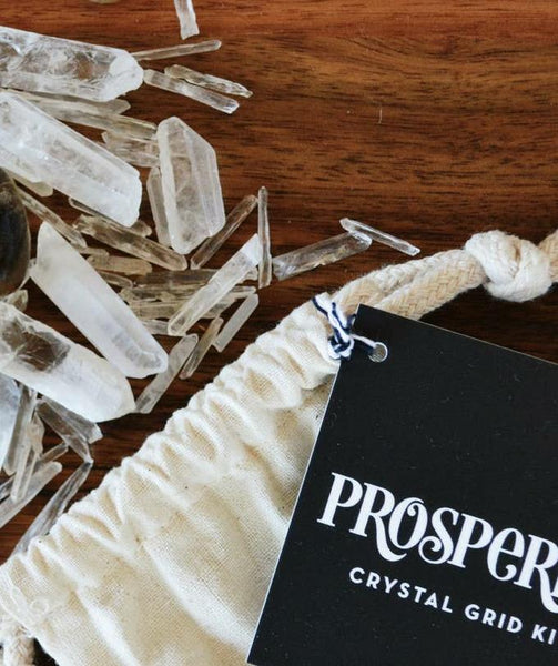 Prosperity Crystal Grid Set