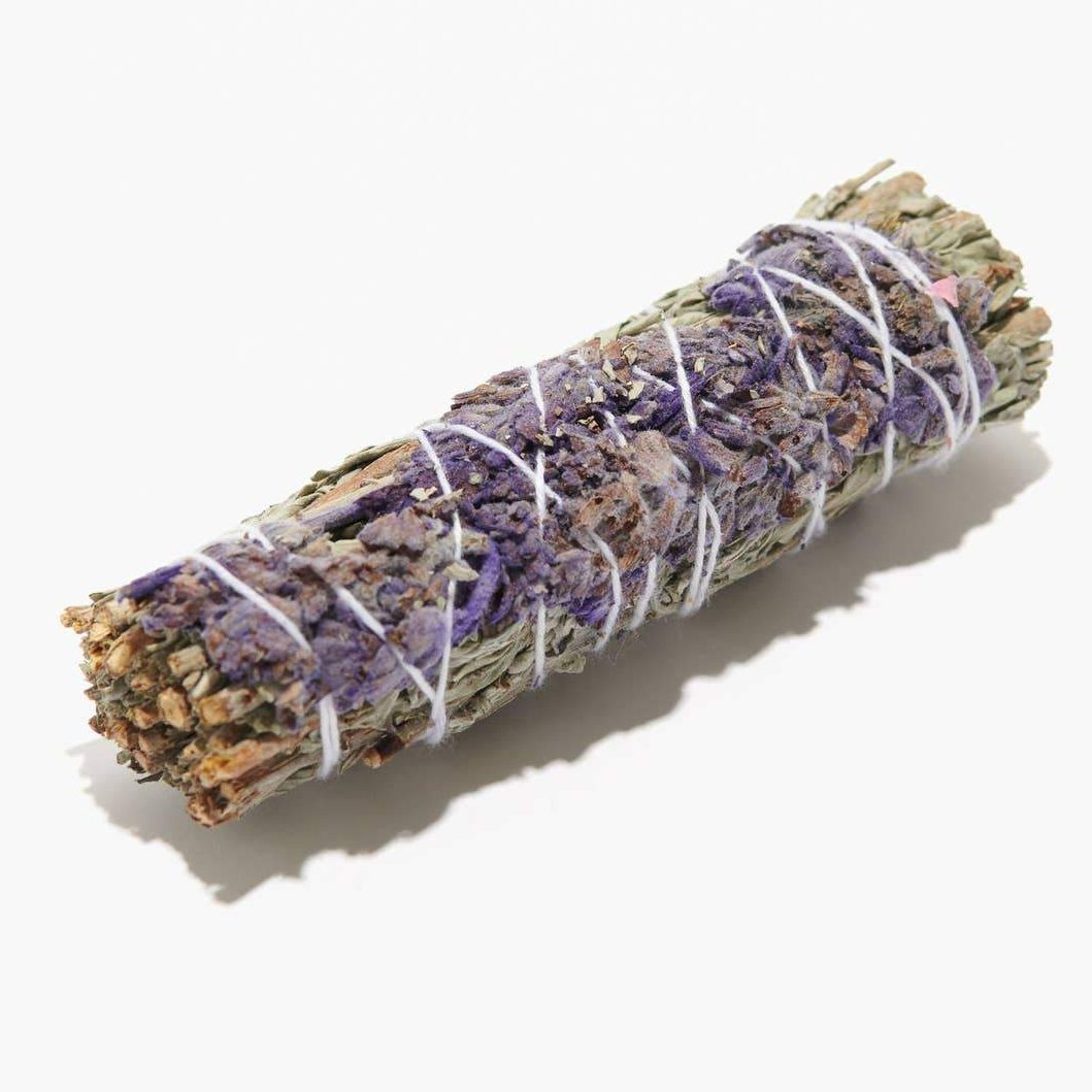 White Sage & Lavendar Smudge Sticks 4 inches - Tree Of Life Shoppe