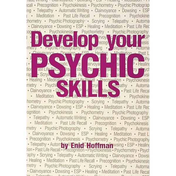 Develop Your Psychic Skills Book - Tree Of Life Shoppe
