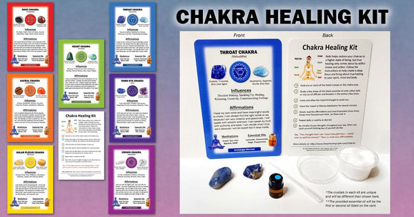 Chakra Healing Kit - Seven Chakra Collection - Tree Of Life Shoppe