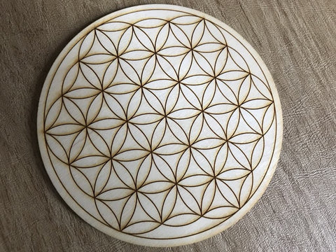 FLOWER OF LIFE CRYSTAL GRID - Tree Of Life Shoppe
