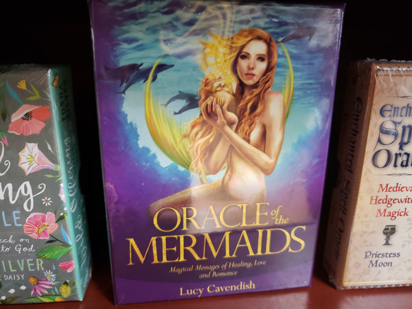 Oracle of the Mermaids by Lucy Cavendish - Tree Of Life Shoppe