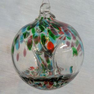 Seasons Witch Ball 4 inches - Tree Of Life Shoppe