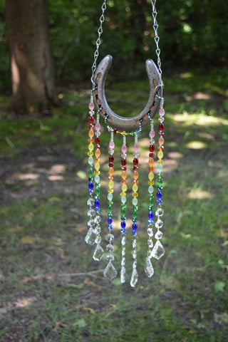 Horseshoe Suncatcher - Custom Made