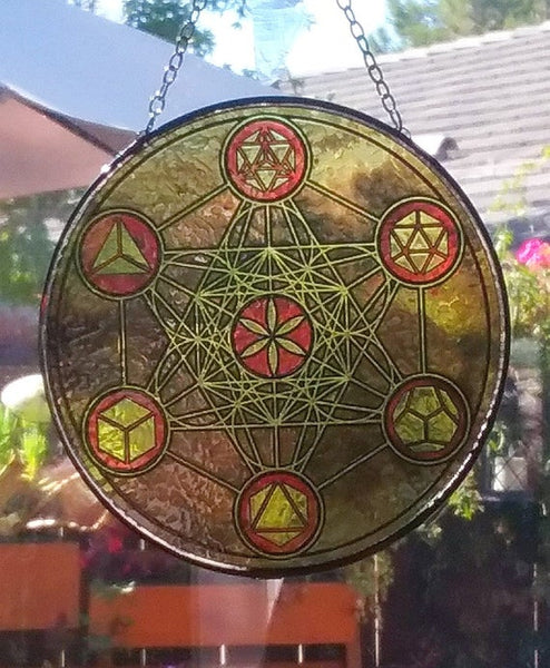 Metatron Suncatcher 6in - Tree Of Life Shoppe
