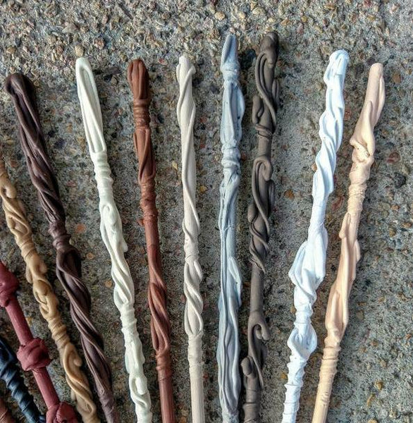 Hand Crafted Wooden Muggle Wands - Tree Of Life Shoppe