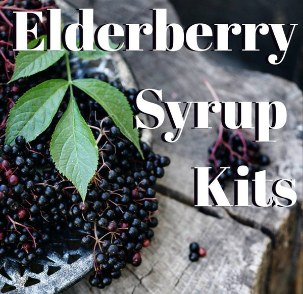 Elderberry Syrup Kit by Coal Country Boilo