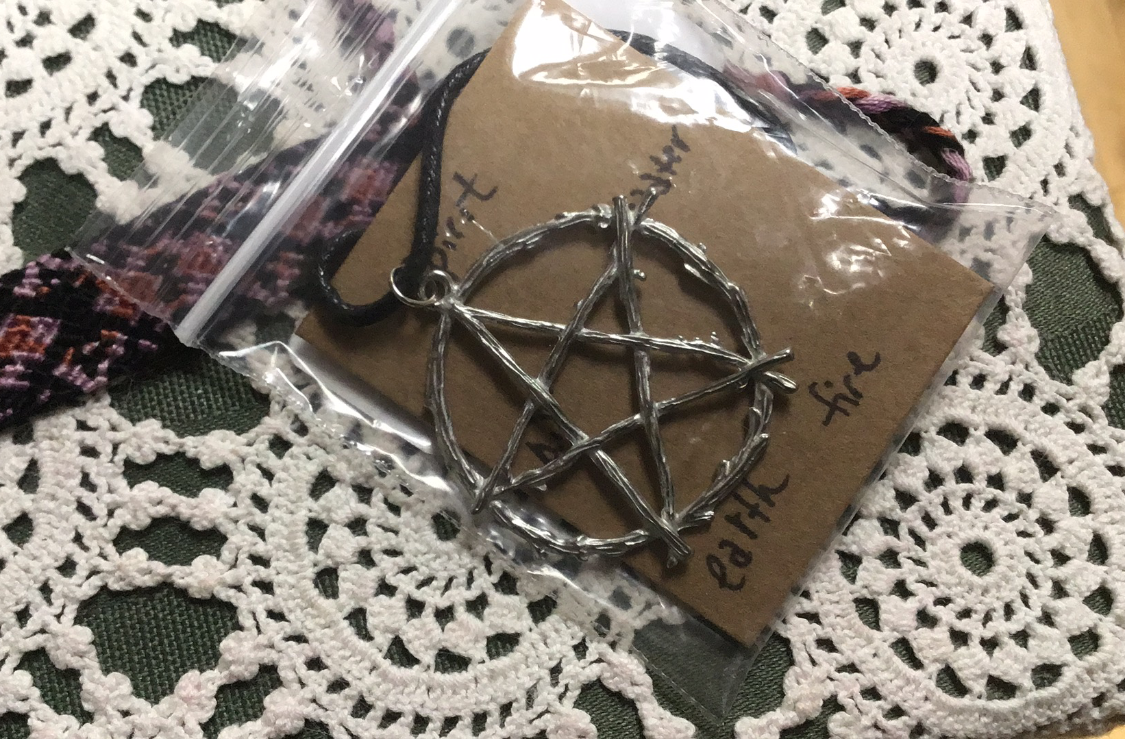 Pentagram with Branches