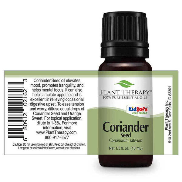 Coriander Seed Kid Safe Essential Oil - Tree Of Life Shoppe
