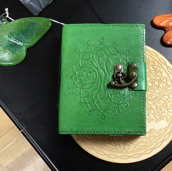 Green Tree of Life Paper Journal
