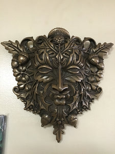 Greenman Wall Plaque 12 inches