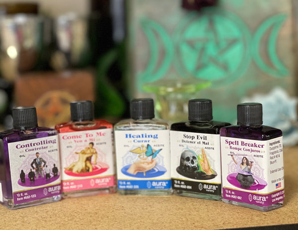 Aura - Intention Oils, Annointing Oils - 4 Dram - Tree Of Life Shoppe