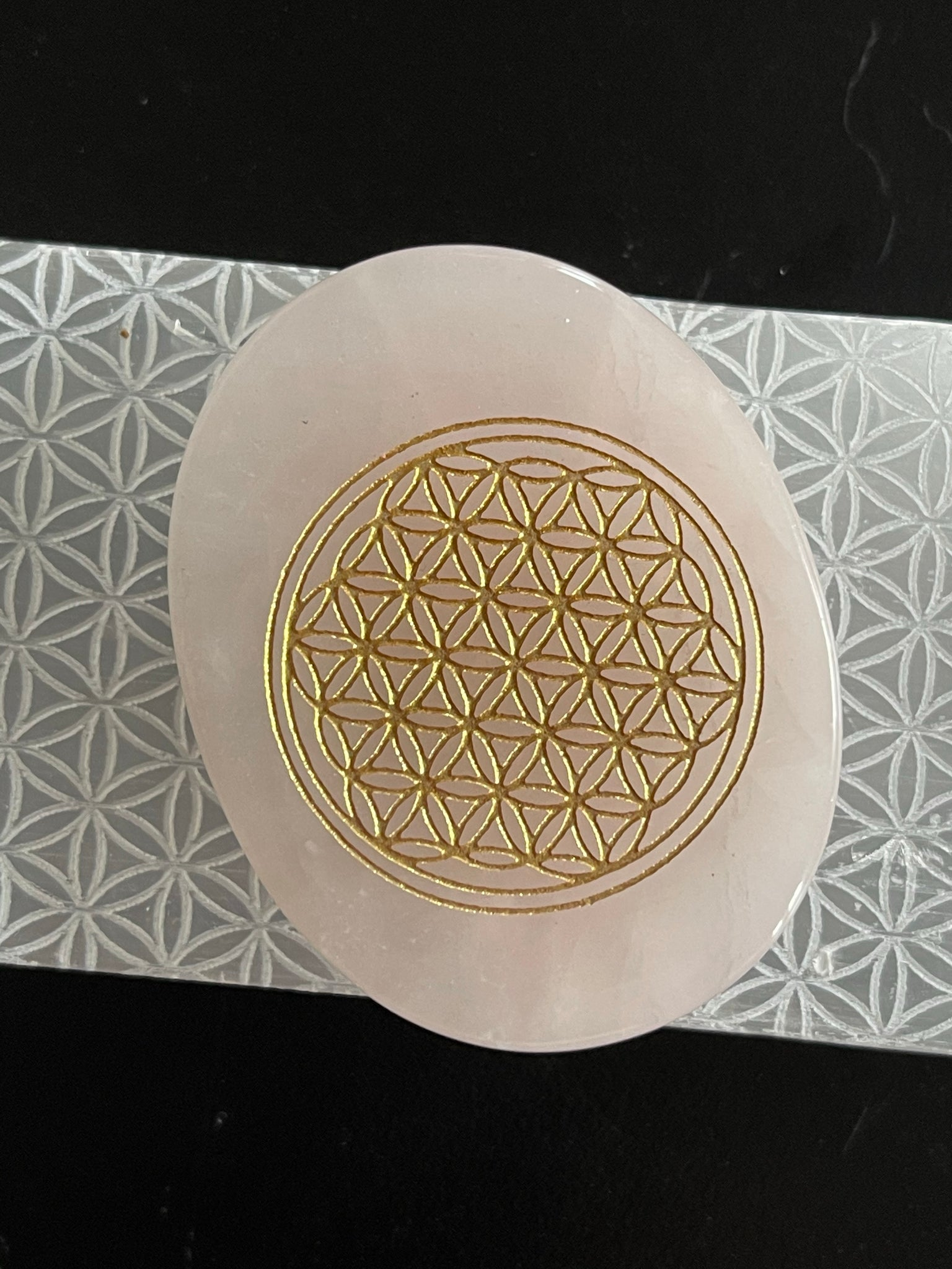 Flower of Life Palm Stone Collection - Various - Tree Of Life Shoppe