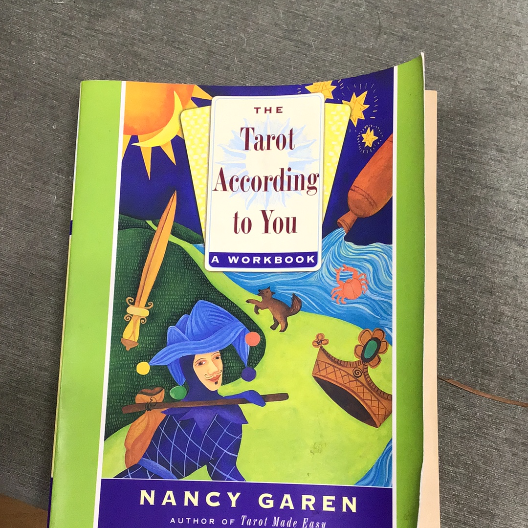 The Tarot According to You by Nancy Green ( Used - Good Condition )