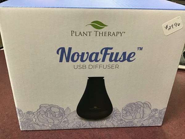 NovaFuse USB Diffuser - Black - Tree Of Life Shoppe