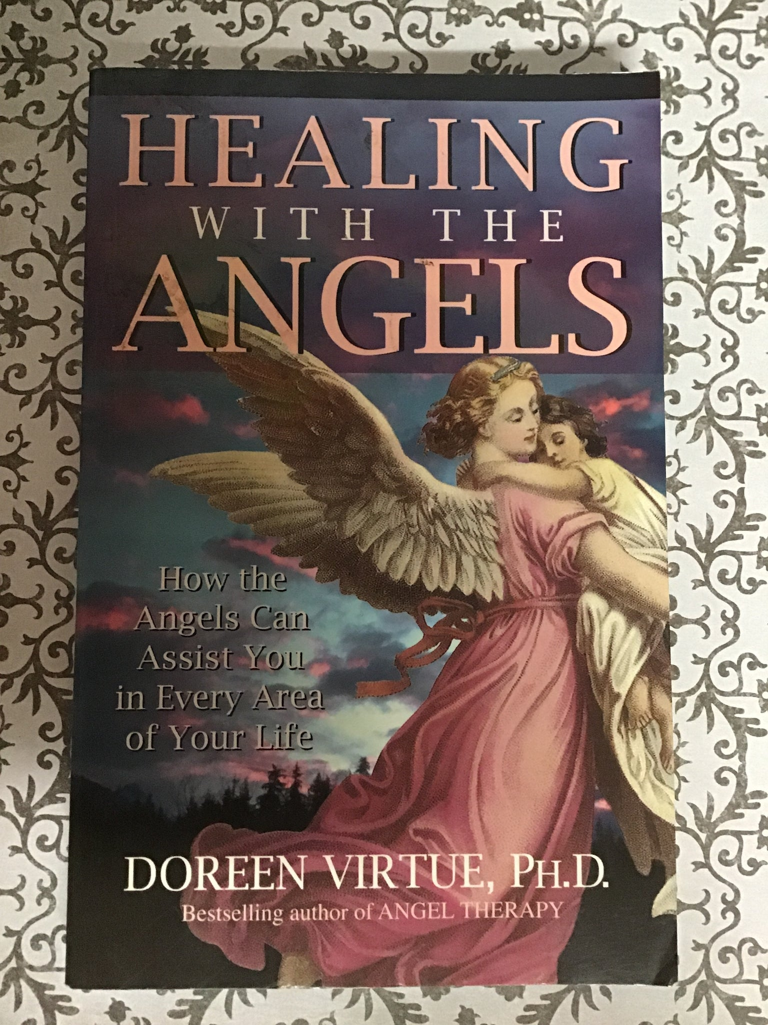 Healing with the Angels - Doreen Virtue ( Used -  Good Condition, no longer in production )