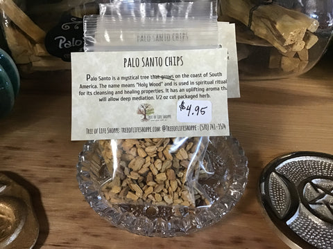 Palo Santo Chips 1/2 oz