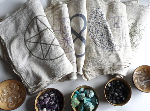 Crystal Grid Cloth - Various - Tree Of Life Shoppe