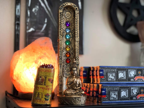 Buddha Chakra Incense Burner - Tree Of Life Shoppe