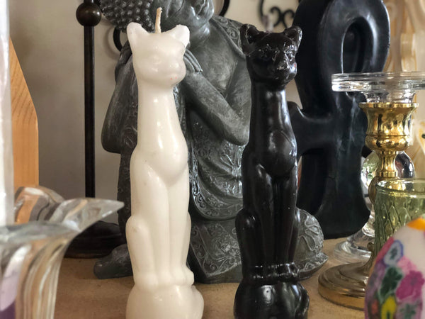 Cat Candles - Tree Of Life Shoppe