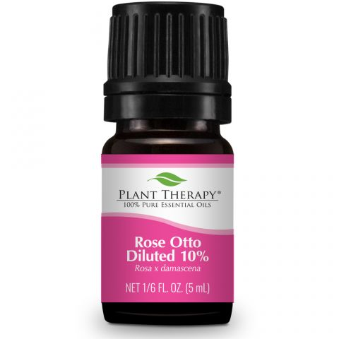Rose Otto Diluted 10% Essential Oil 5ml - Tree Of Life Shoppe