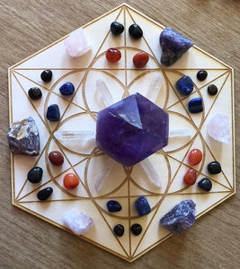 SEED OF LIFE CRYSTAL GRID - Tree Of Life Shoppe
