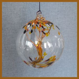 A Witches Season Witch Ball 8 inches