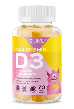 Kids can never get enough sun. So why not bring it to them? Every serving has 500IU of Vitamin D to ensure your little ones develop and maintain strong bones and teeth while also helping them to maintain their immune function. They're vegetarian, sugar-free, non-gmo, pectin, gelatin-free, dairy, egg, peanut, tree nut, soy and gluten free.