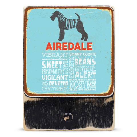 Airedale Hound (Typedography)