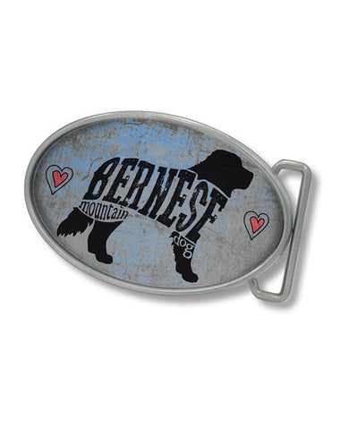 Bernese Belt Buckle (Grey/Blue)